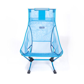 Helinox Beach Chair, blue mesh/ blue